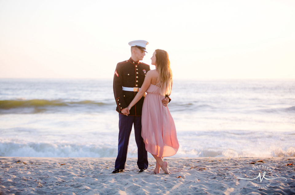 A Romantic Carlsbad Beach Engagement Session in Southern California, Congratulations Elle + Zach