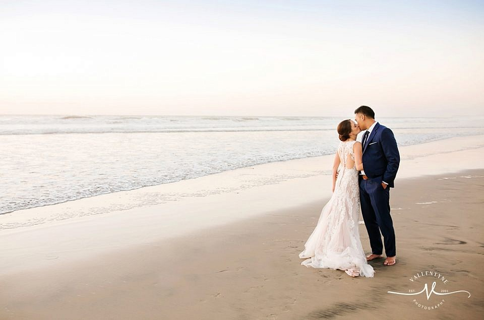 A Beachfront Wedding in Del Mar at the Powerhouse, Congratulations Lauren and Anthony!